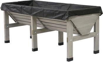 VegTrug Hochbeet Medium 180x78x80cm grey wash