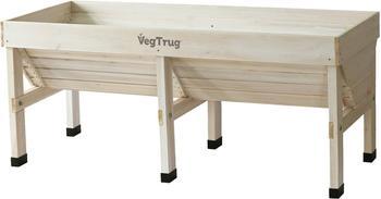 VegTrug Hochbeet Medium 180x78x80cm white wash