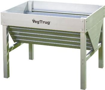 VegTrug Hochbeet Aluminium (104 x 76 x 80 cm)