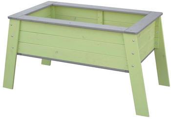 Beluga Kinder-Hochbeet 119 x 59 x 60 cm grün/grau
