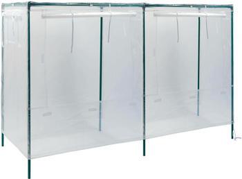 Vitavia Hochbeetabdeckung Eckig L 158x55x95cm transparent