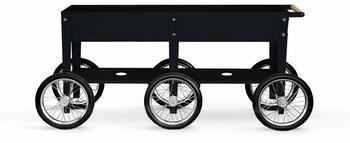 Herstera Garden Kräuterfabrik Wheels 150x35x80cm schwarz (HG08937501)