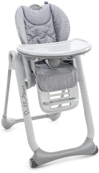 Chicco Polly2 Start - Happy Silver
