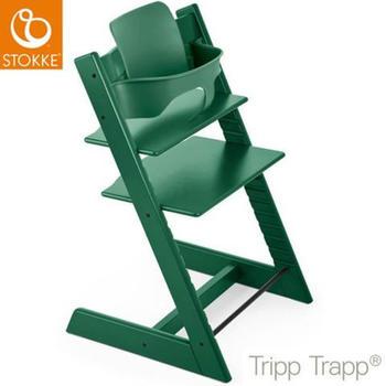 stokke-tripp-trapp-forest-green-inkl-babyset