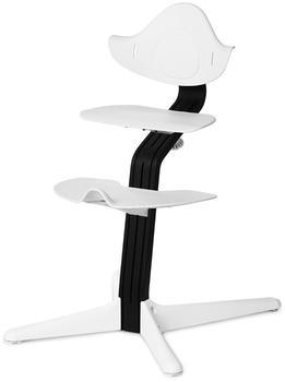 Evomove Nomi Hochstuhl - Eiche schwarz lackiert white