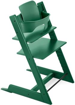 stokke-tripp-trapp-baby-set-forest-green