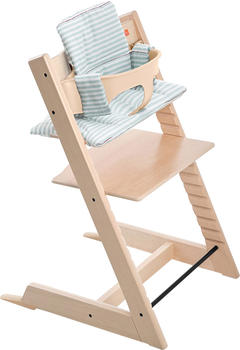 Stokke Tripp Trapp Sitzkissen - Aqua Stripes beschichtet