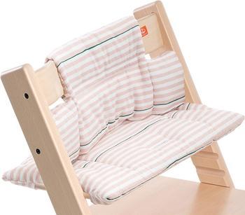 Stokke Tripp Trapp Sitzkissen - Pink Stripes beschichtet