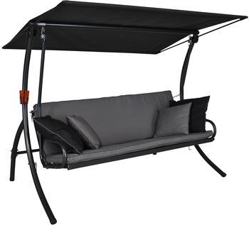 Angerer Elegance Style 3-Sitzer Design Style grau