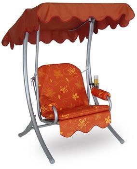 Angerer Single Hollywood-Schaukel 1,5-Sitzer orange