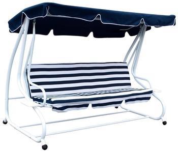 FRG Miami 4-Sitzer weiss/ blau