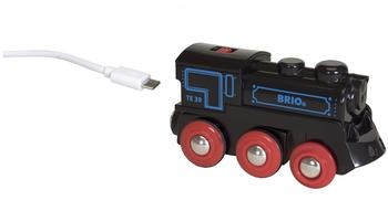Brio Schwarze Akkulok mit Mini-USB (33599)