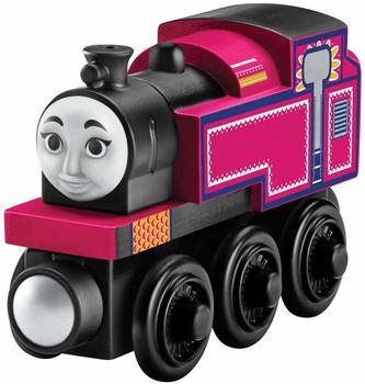 Mattel - seine Freunde - Holzeisenbahn-Lok Ashima