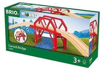 Brio Bahnbrücke mit Auffahrten (33699)