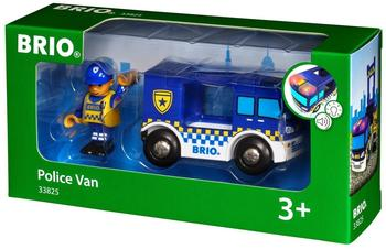 Brio Polizeiwagen mit Licht und Sound (33825)