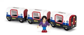 Brio Wolrd - U-Bahn mit Licht und Sound (33867)