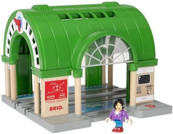 Brio Großer Hauptbahnhof mit Ticketautomat (33649)