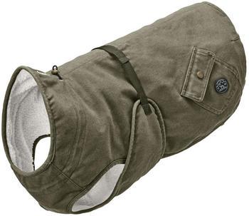 hunter-hundemantel-uppsala-trend-khaki-65cm