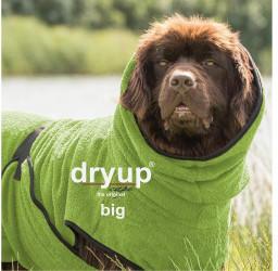 Fit4Dogs Dryup Cape Big 3XL 84cm grün
