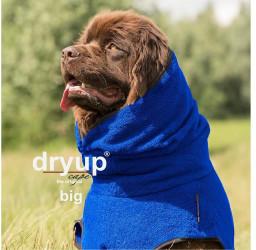 Fit4Dogs Dryup Cape Big 90cm blau