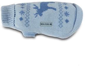 Wolters Strickpullover Elch 35cm sky blue/riverside-blue