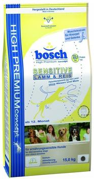bosch High Premium Concept Sensitive Lamm & Reis (15 kg)