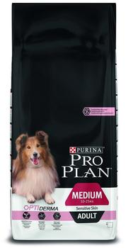 Purina Pro Plan Adult Medium Sensitive Skin OptiDerma (14 kg)