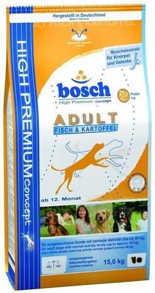 bosch High Premium Concept Adult Fisch & Kartoffel (15 kg)