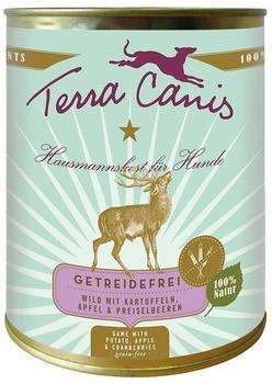 Terra Canis Menü Pute mit Sellerie, Kürbis & Brunnenkresse (800 g)