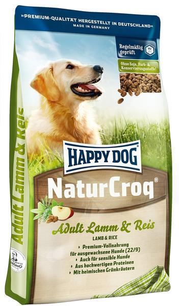 Happy Dog NaturCroq Lamm & Reis (15 kg)