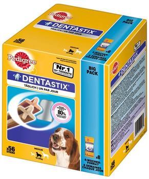 Pedigree Denta Stix Vorteilspack für mittelgroße Hunde (56 Stück)