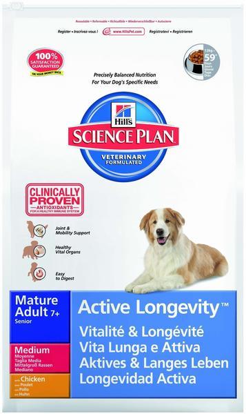 Hill's Canine Mature Senior 7+ Huhn (12 kg)