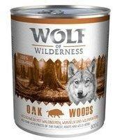 Wolf of Wilderness Oak Woods Wildschwein 12 x 800 g