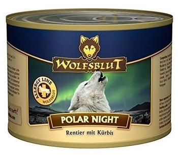 Wolfsblut Polar Night Nassfutter mit Rentier und Kürbis (200 g)