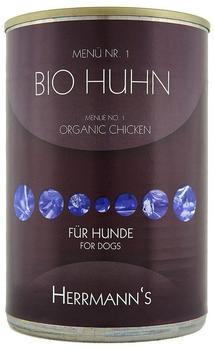 Herrmanns Hundefutter Bio Rind mit Süßkartoffeln (400 g)