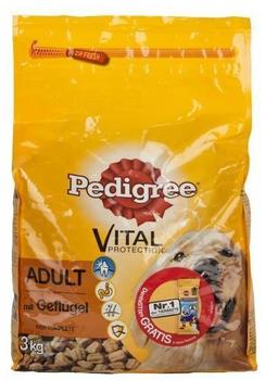 Pedigree Vital Protection Adult mit Geflügel 100% Complete 3 kg