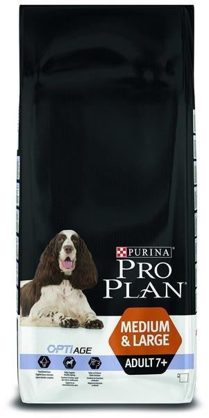 Purina Pro Plan Opti'Age Medium & Large adult 7+ with chicken (14 kg)