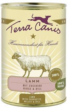 Terra Canis Lamm mit Zucchini, Hirse & Dill (400 g)