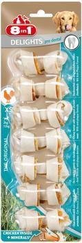 8in1 Delights Pro Dental Kauknochen XS