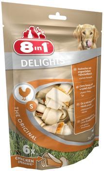8in1 Delights Kauknochen S-Beutel 6 St.