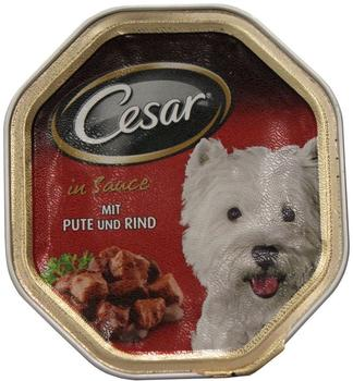 cesar-landkueche-mini-filets-in-sauce-mit-pute-rind-150-g