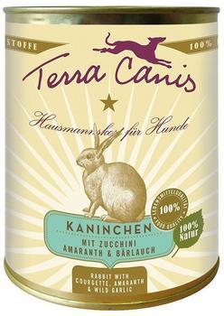Terra Canis Kaninchen, Zucchini, Amaranth & Bärlauch (800 g)