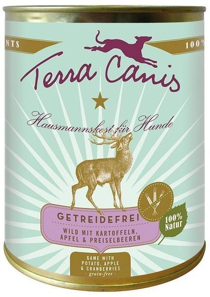 Terra Canis Menü Huhn mit Pastinaken, Löwenzahn & Kamille (800 g)