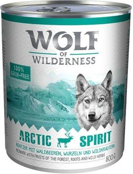 Wolf of Wilderness Adult Arctic Spirit Rentier 800 g