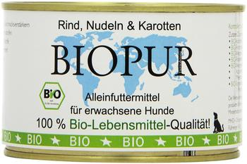 Biopur Adult Rind, Nudeln - Karotte
