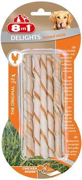 8in1 Delights Hähnchenfleisch Twisted Sticks