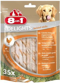 8in1 Delights Twisted Sticks 35 St.