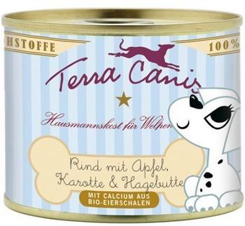terra-canis-welpenmenue-rind-mit-apfel-karotte-und-hagebutte-12x200g