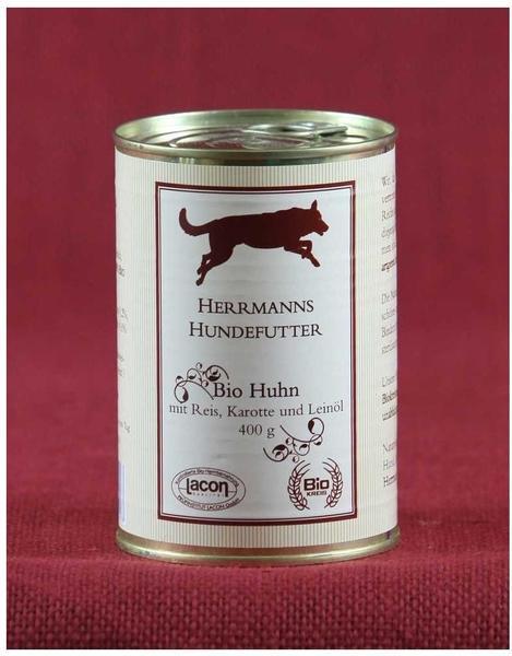 Herrmanns Hundefutter Bio Gans mit Buchweizen (400 g)