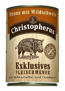 Allco Christopherus Exklusives Fleischmenü Wildschwein (400 g)